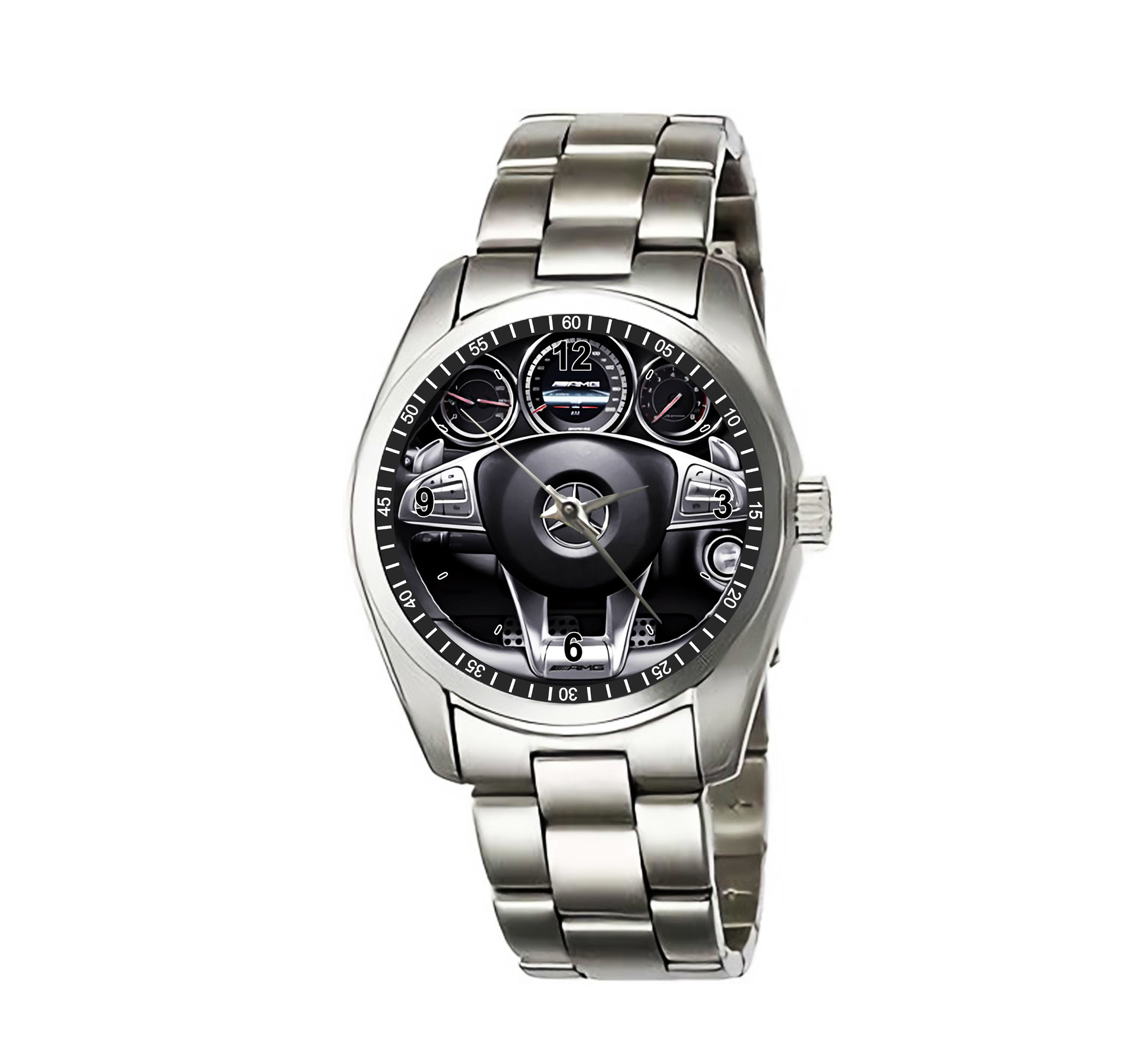 094-Mercedes Benzz CLS CLASS CLS63 AMG steering wheel Wristwatches (2).jpg