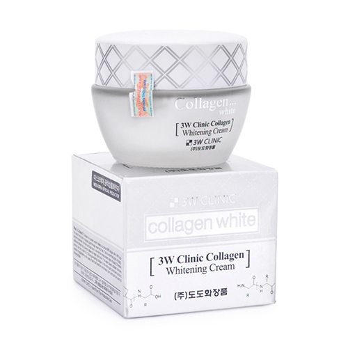3W Clinic Collagen White Eye Cream / Whitening / Softener / Emuslsion Toner