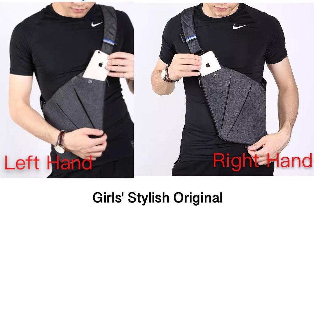 NIID FINO II 2 Sling Shoulder Crossbody Chest Bag (Box, Label, Logo, Dust Bag incl.)
