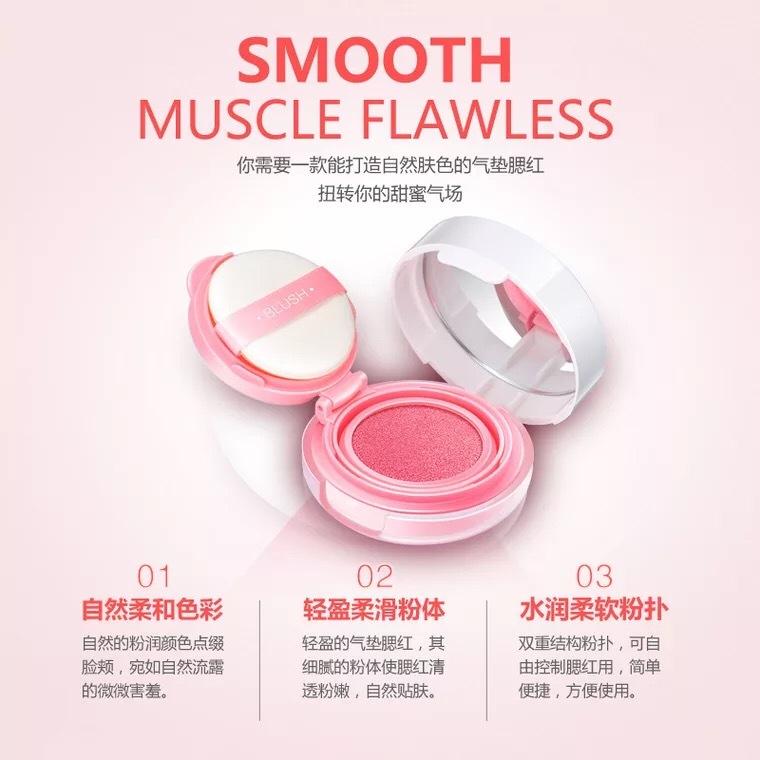 Image Blusher Air Cushion Cream Blush makeup Blusher Blushes Make-up