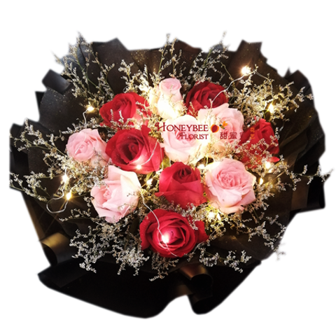 Round-Rose-Bouquet-delivery-miri.png