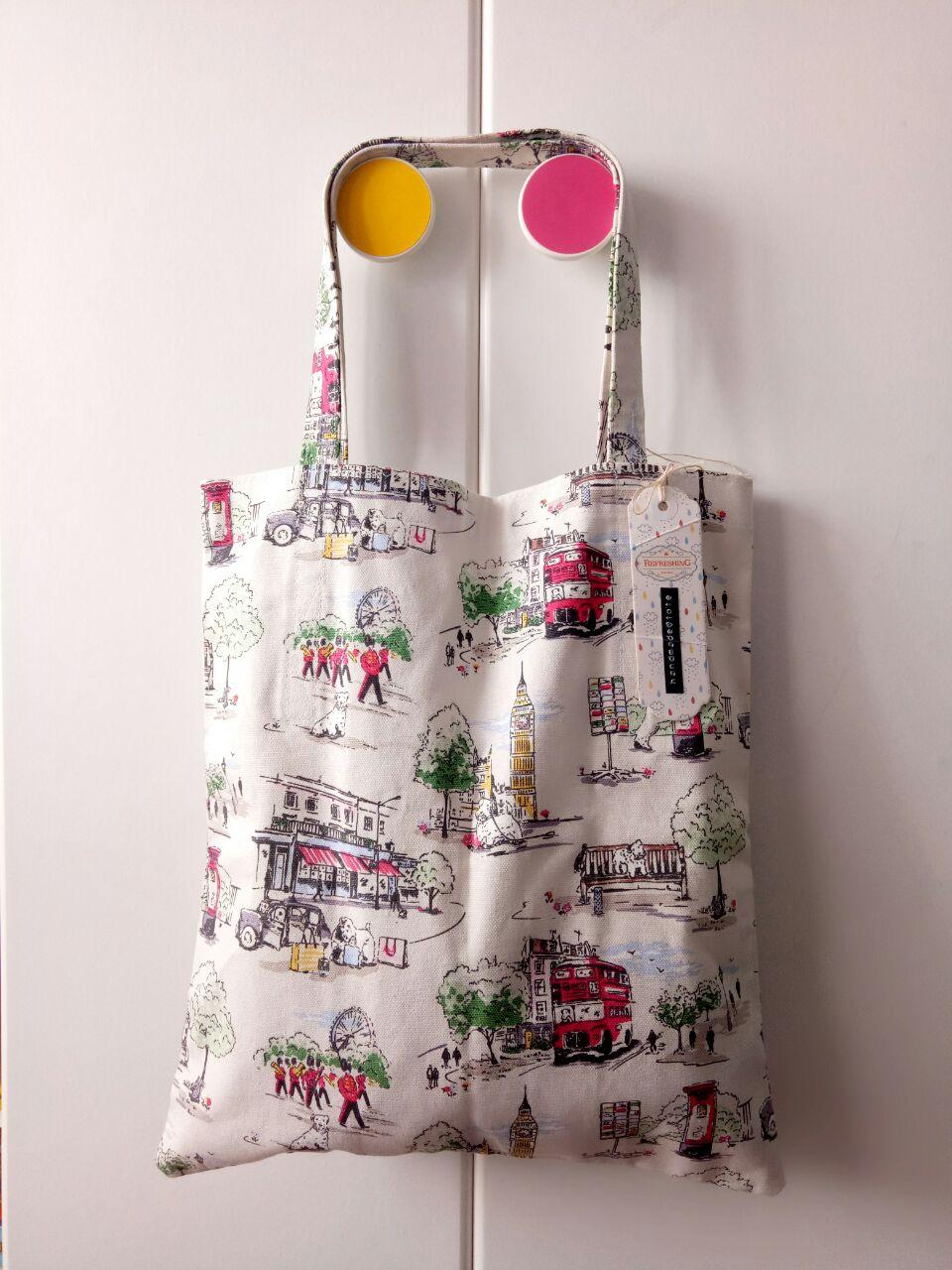 WS Handmade Tote Bag - London City main image