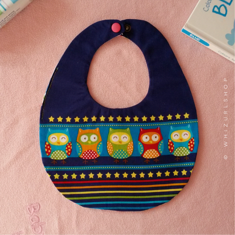Baby Bib - Dark Blue 1.png