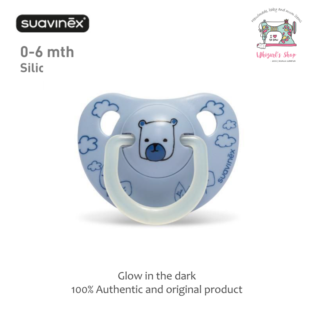 Suavinex - Night & Day Soother - Light Blue Bear.png