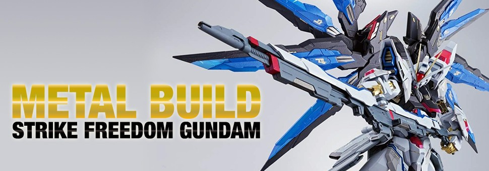 Metal Build Strike Freedom Gundam