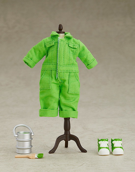 Nendoroid Doll- Outfit Set (Colorful Coveralls - Lime Green).jpg