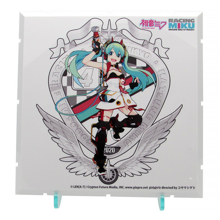 Dioramansion 150 - Racing Miku Pit 2020 Optional Panel (Key Visual F).jpg