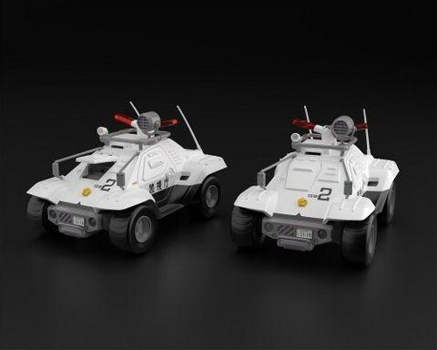 1-43 Mobile Police Patlabor Type 98 commnad vehicle 2 sets.jpg