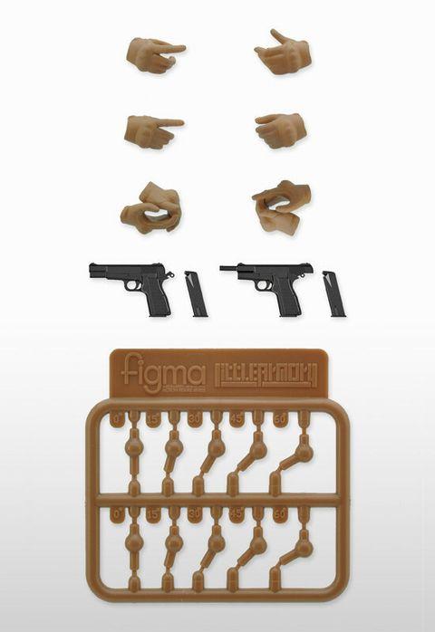 LAOP06 figma Tactical Gloves 2 - Handgun Set (Tan).jpg