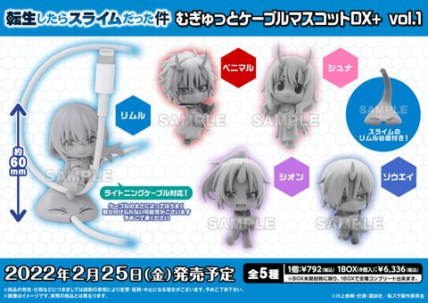 That Time I Got Reincarnated as a Slime Mugitto Cable Mascot DX+ vol.1.jpg