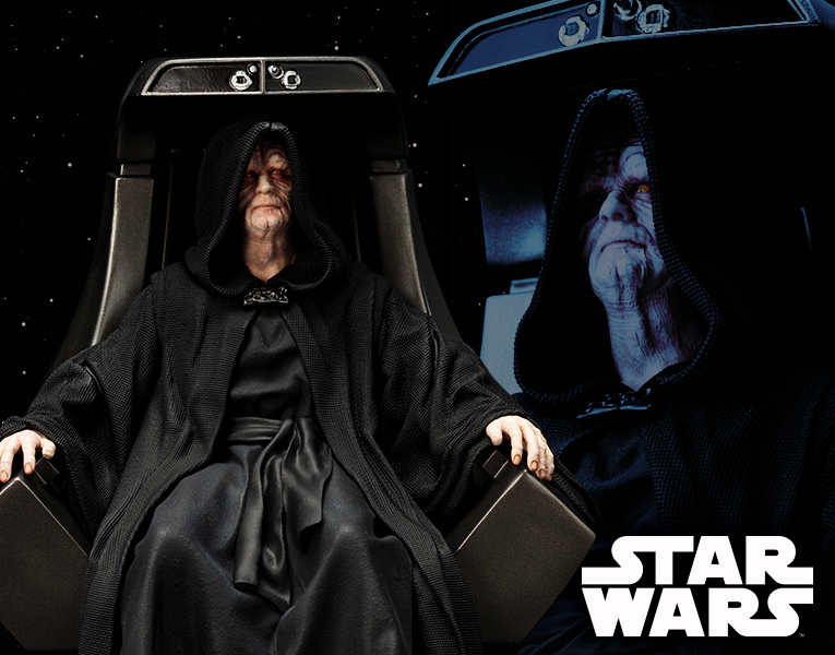 Star Wars - Return of the Jedi - Emperor Palpatine ARTFX+ Statue.png