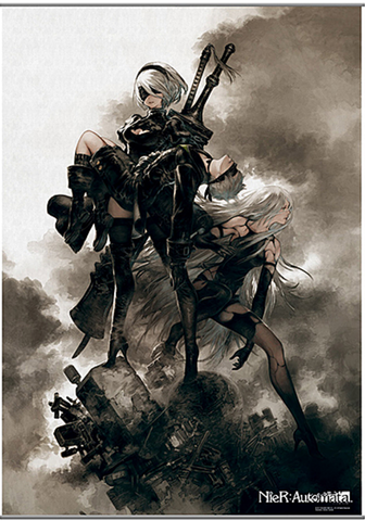 NieR - Automata Wall Scroll Poster.png