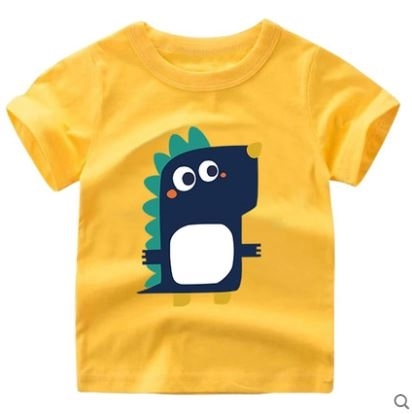 New-Arrival Short Sleeved Boy T-Shirt Cotton Comfortable Children Shirt SGOS