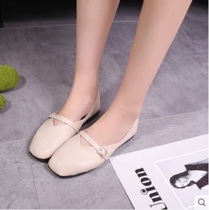 New-Arrival Buckle Shoes Flat Shoes Female Mary Jane Shoes SGOS