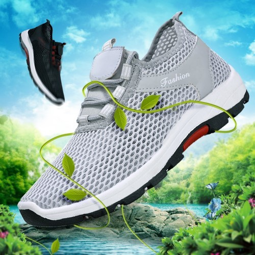[Pre-Order] Summer New Mesh Shoes Men's Breathable