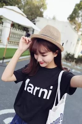 [Pre-Order] Hat Female Summer Sun Hat Straw Hat Summer Korean Fashion