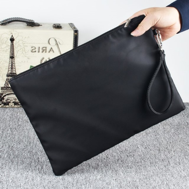 ​[Pre-Order] Waterproof Clutches Bag Casual Bag Handbag Nylon Cloth Large Size Hand Bag Fashion