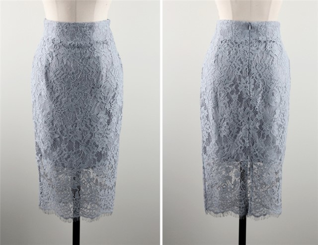New-Arrival Ladies Lace Dress Professional Studio Shooting Dress Two-Pieces Suit Skirt