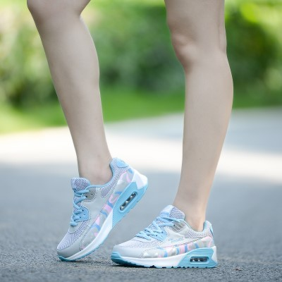 New-Arrival Breathable Mesh Women's Shoes Thick-Soled Shoes Sports
