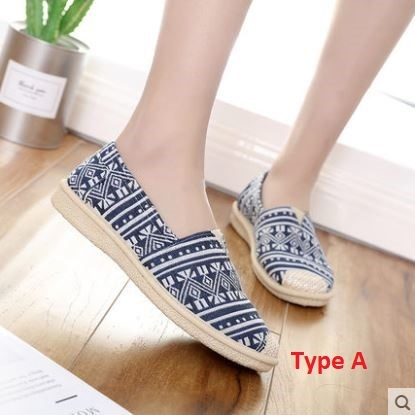 New-Arrival Flat Canvas Shoes Women's Casual Shoes Cloth Shoes