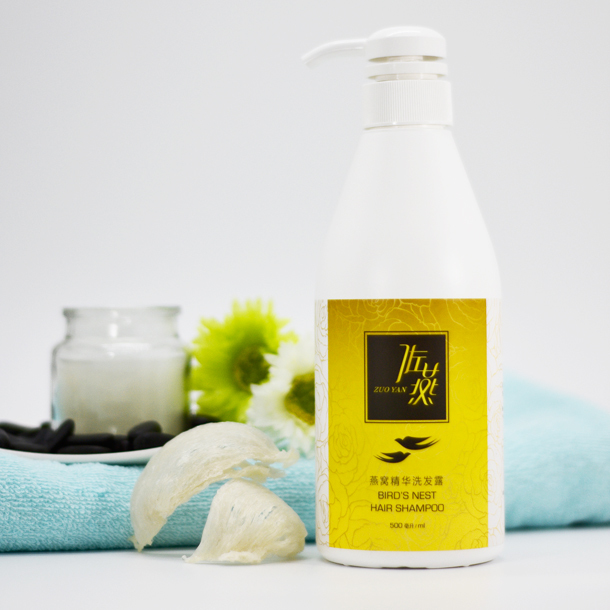 Zuo Yan Bird Nest Hair Shampoo (500ml)