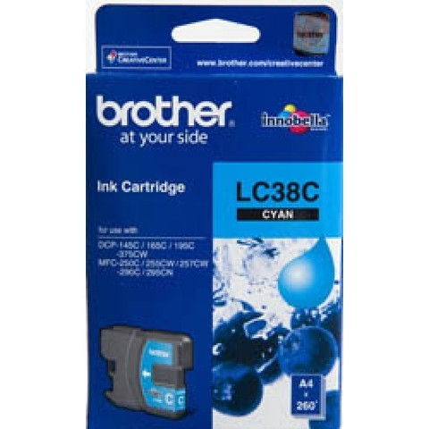 Brother-LC-38-Cyan-Ink-Cartridge-LC-38C