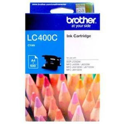 Tinta_BROTHER_LC400C_Warna_Cyan_Original
