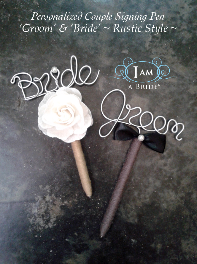 Wedding Couple Pens