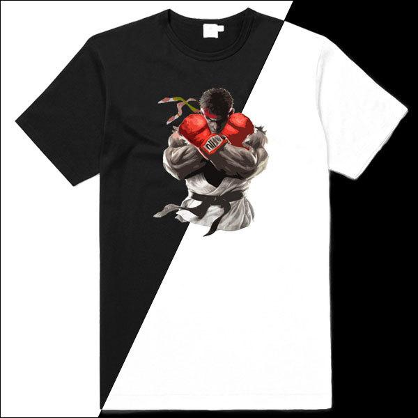[Black/White] SFV Ryu T-Shirt