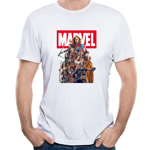 [Black/White] MCU Heroine T-Shirt