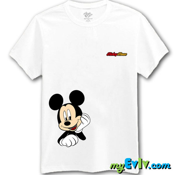 [Black/White] Mickey Portrait II T-Shirt