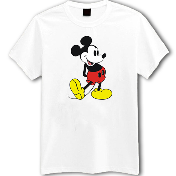 5fc1d45b Mickey Mouse White T-Shirt