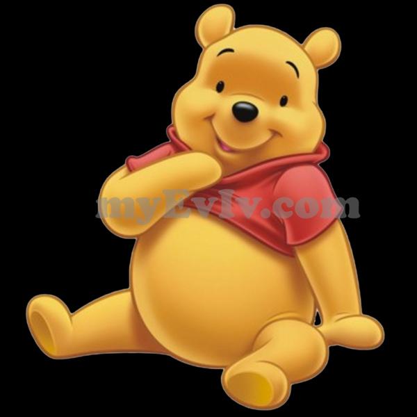 [Black/White] Winnie The Pooh T-Shirt
