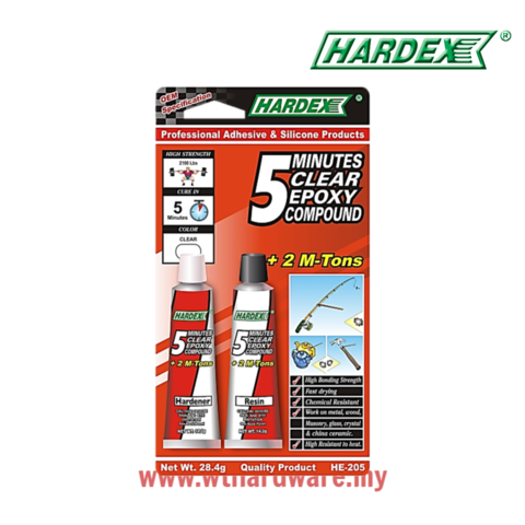 Hardex 5 Minutes Clear Epoxy Compound HE205.png