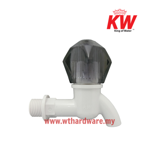 KW Water Plastic Bib Tap HT Transparent black Short copy.png