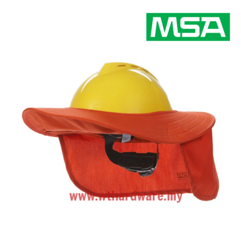 MSA Large Brim Safety Helmet Sun Protection Hat .png