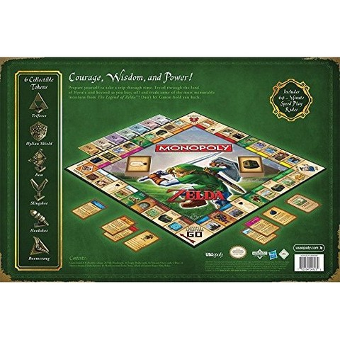 Hasbro Monopoly Legend of Zelda Collector's Edition Board Game 3.jpg