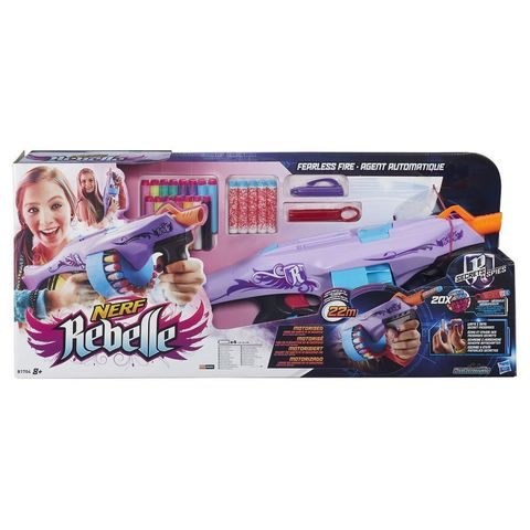 Nerf Rebelle Secrets & Spies Fearless Fire Blaster With 20 X Darts (B1704) .jpg