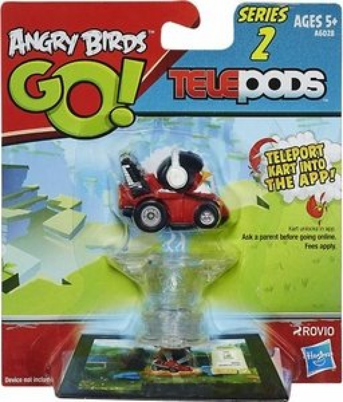 Angry Birds Go Toys : Hasbro angry birds go telepods kart series red bird