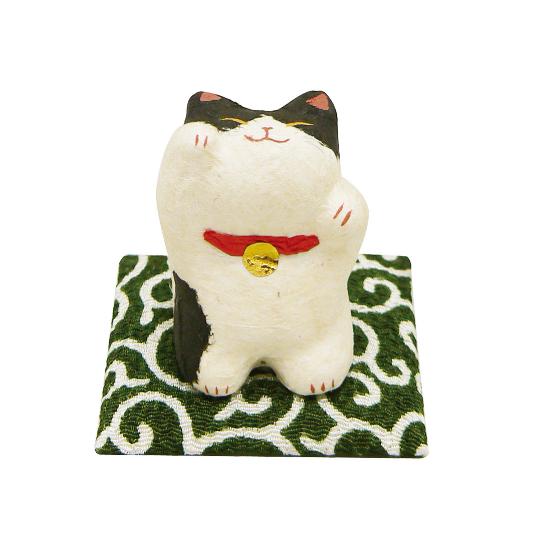 站立討摸 紙貓擺飾 賓士.png