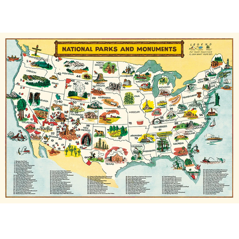 National Parks Map wrap.png
