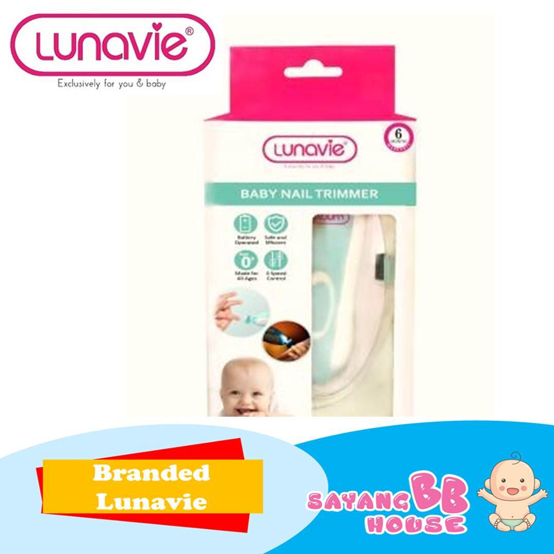 Lunavie Baby Safety Electric Nail Trimmer