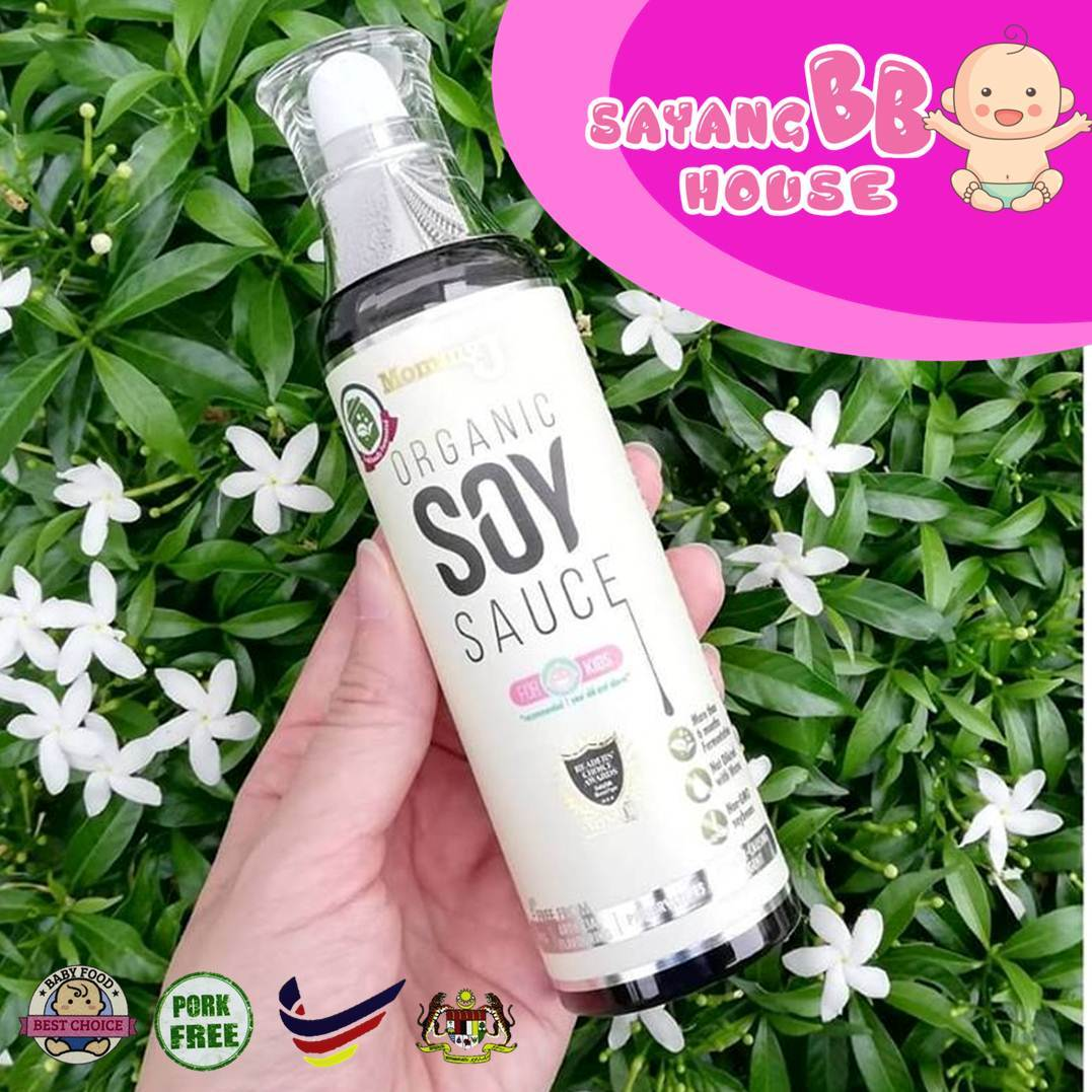 MommyJ Traditionally Fermented Organic Soy Sauce 220ml (No Pork No Lard)