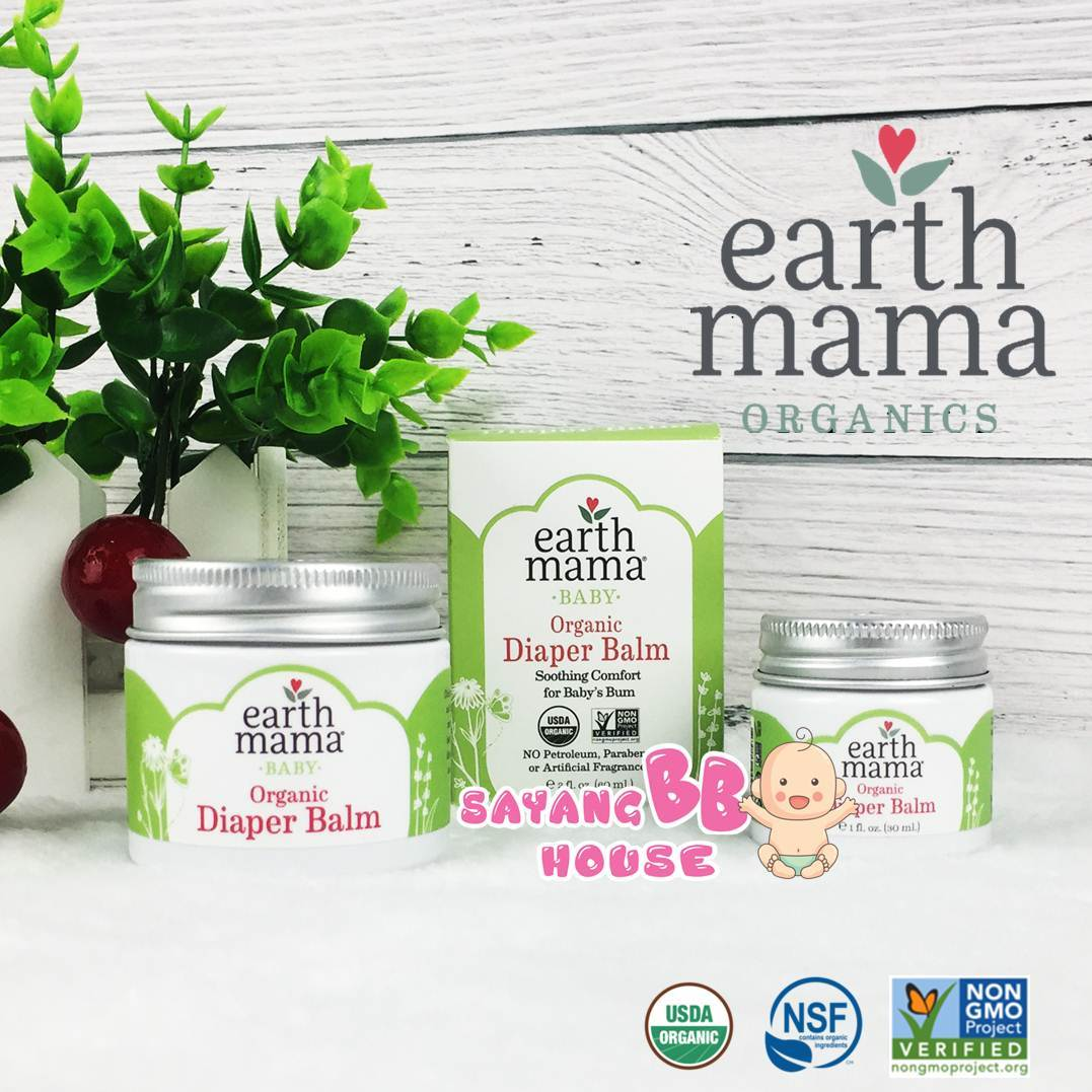 Earth Mama- Organic Diaper Balm 60ml/30ml