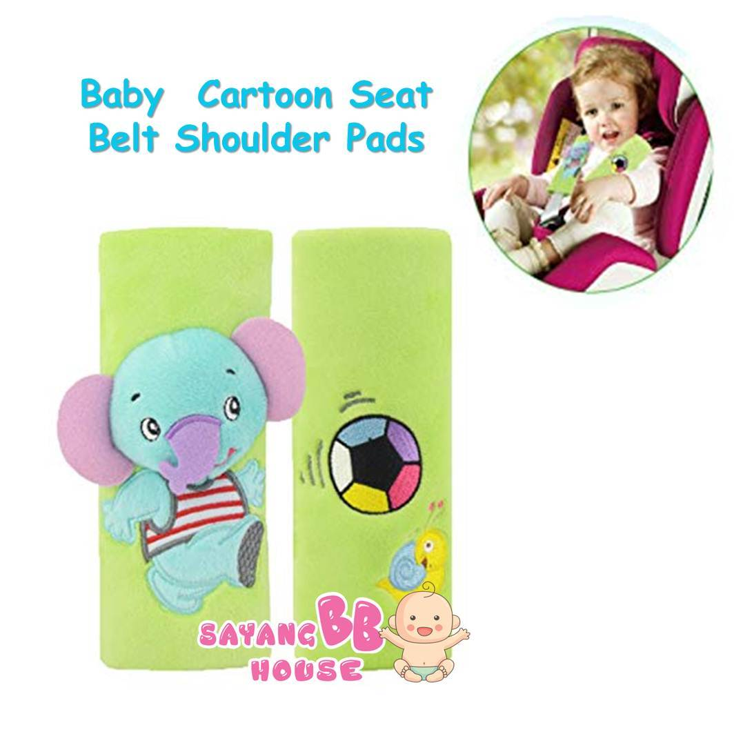 Baby Cartoon Seat Belt Shoulder Pads