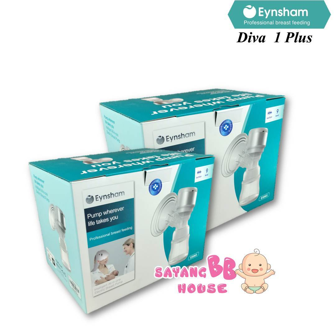 Eynsham Diva 1 Plus Rechargeable All in one Wireless Breast Pump (No Tube) Size 21mm , 24mm , 28mm