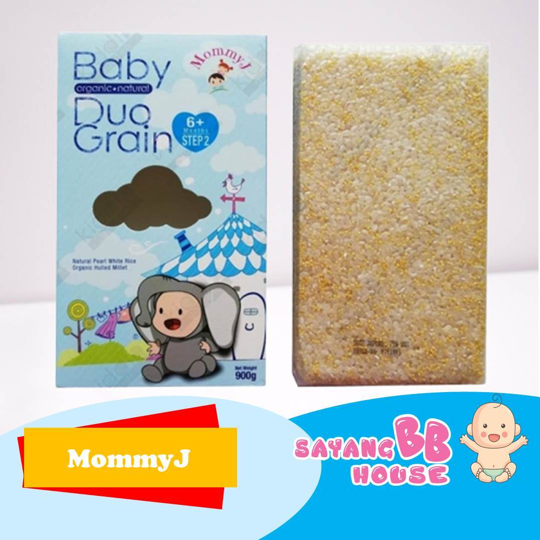 Baby Food MommyJ  Baby Organic Duo-Grain-Step2 (6month above)  (especially ORGANIC WHITE QUINOA which contains healthy omega-3)