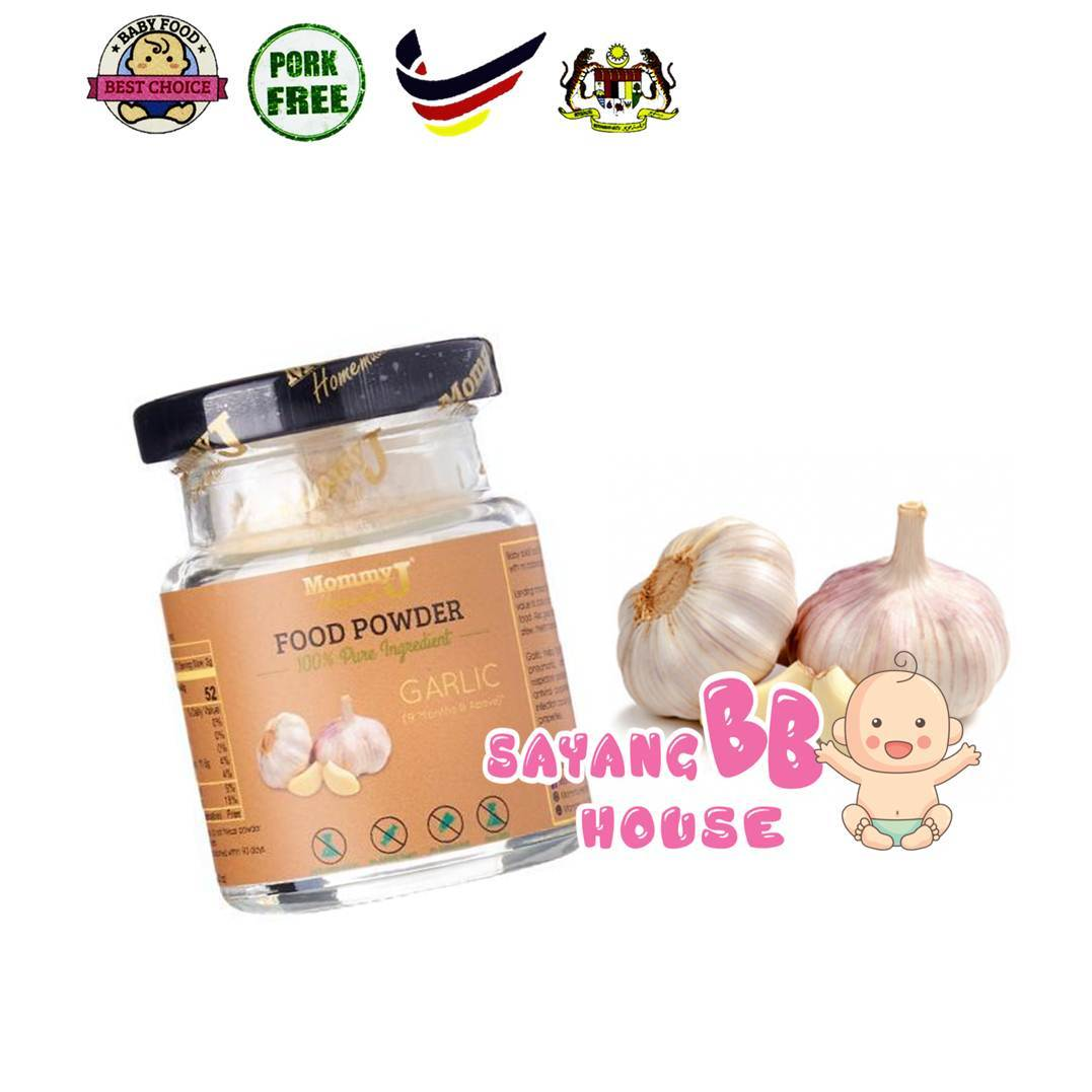 Baby Food MommyJ Homemade Food Powder Garlic 35g  Exp: 06/2020 (9month above)