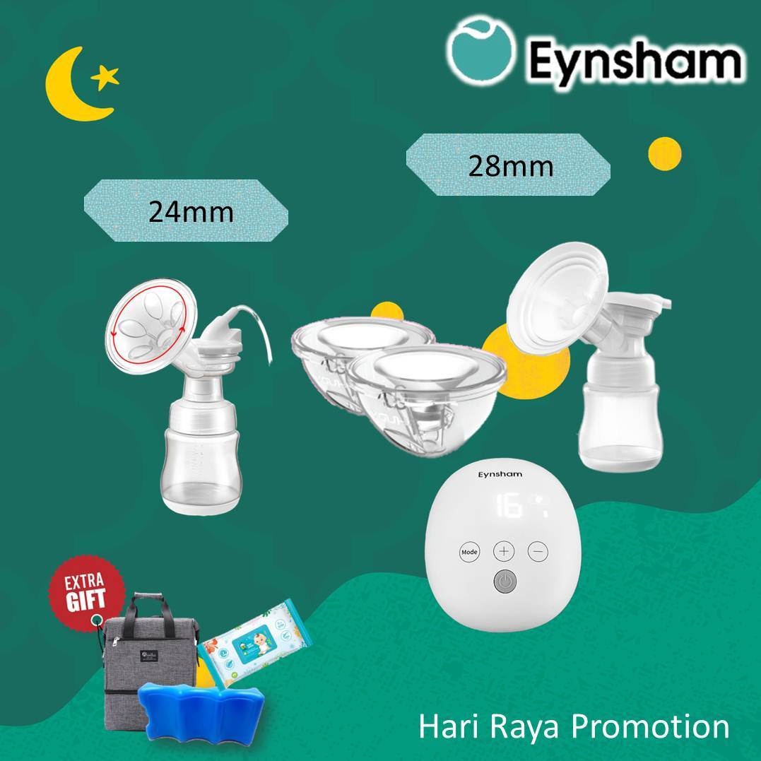 Eynsham Symphony rechargeable double breast pump with youha youcup comboo set  - 2yrs warranty