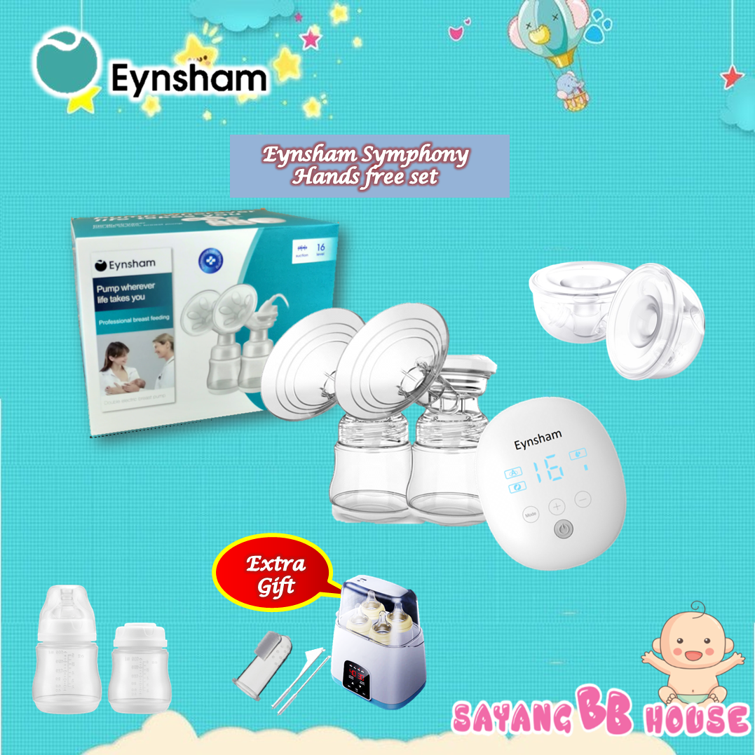 Eynsham Symphony rechargeable double breast pump ( Double Hands-free Cup Set ) 2yrs warranty